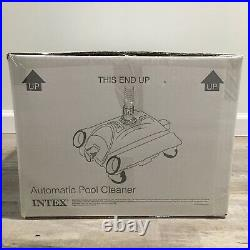 Intex 28001E Above Ground Swimming Pool Automatic Vacuum Cleaner with 1.5 Fitting