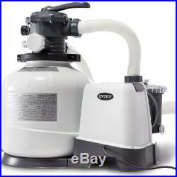Intex 2800gal Krystal Clear Sand Filter Pump (26648)