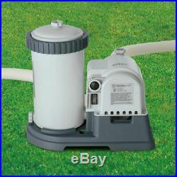 Intex 28633EG 2500 GPH Above Ground Swimming Pool Cartridge Filter Pump IN HAND