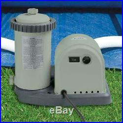 Intex 28636 Pool Filter Pump 5678 L/H Swimming System +1 Cartridge