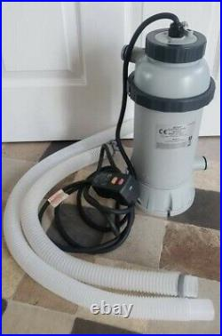 Intex 28684 Electric Above Ground Pool Heater 2.2 KW / 230 V never been used 8