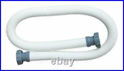 Intex 3000 GPH Above Ground Pool Sand Filter Pump with 1.5 Inch Pump Hose (2 Pack)