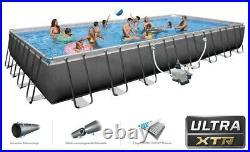 Intex 32FT 26374 Ultra Xtr Frame Above Ground Pool Rectangular 975x488 26378
