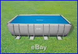 Intex 32ft x 16ft Rectangular Prism Frame Swimming Pool SOLAR COVER #29030