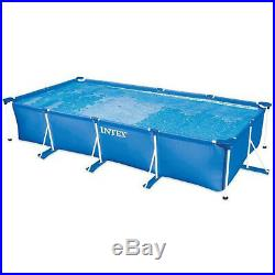 Intex 4.5m x 2.2m x 84cm Rectangular Frame Above Ground Swimming Pool #28273