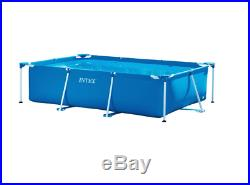 Intex Above Ground Frame Swimming Pool 3m x 2m x 0.75m Outdoor Family Rectangle
