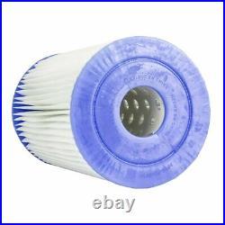 Intex Above Ground Pool Cartridge Filter Pump & Type B Filter Cartridge (5 Pack)