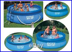 Intex Easy Set Above Ground Swimming Pool+Filter Pump+Lightweight Round Cover