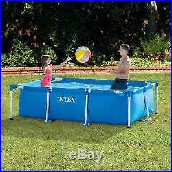Intex Garden Above Ground Swimming Pool Rectangular Frame Round 6 10ft 12ft 13ft