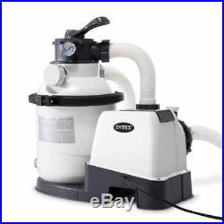 Intex Krystal Clear 1200 GPH Swimming Pool Sand Filter Pump #26644