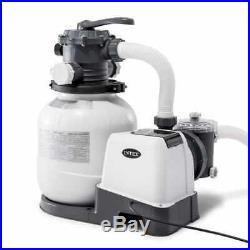 Intex Krystal Clear 2100 GPH Swimming Pool Sand Filter Pump #26646