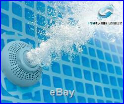Intex Krystal Clear 2500 GPH Above Ground Pool 24 ft Type B Filter Pump 28633EG