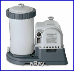Intex Krystal Clear 2500 GPH Pool Filter Pump For large pools. 38mm Hoses