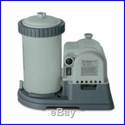 Intex Krystal Clear 2500 GPH Swimming Pool Filter Cartridge PumpIN HAND