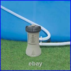 Intex Krystal Clear 530 GPH Pool Replacement Cartridge Filter Pump (2 Pack)