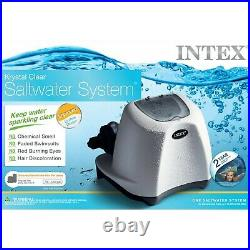Intex Krystal Clear Saltwater System for Above-Ground Pools up to 15,000 Gallons