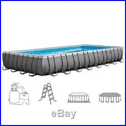 Intex Pool Above-Ground 975x488xh132cm with Pump to Sand & Accessories 26374