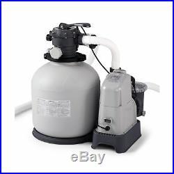 Intex Pool Sand Filter 2150 GPH Pump Salt Water System 110 120 V with GCFI ECO New