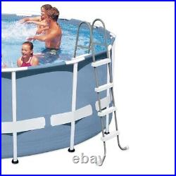 Intex Prism Frame 12' x 30 Above Ground Swimming Pool with 48 Ground Ladder