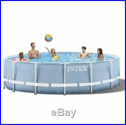 Intex Swimming Metal Frame Pool Above Ground With Pump