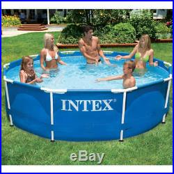 Intex Swimming Pool Metal Frame 366 x76cm 305 x 76 cm Above-Ground Pools Stylish