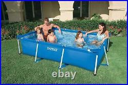 Intex Swimming Pool Rectangular Frame 220x150x60cm Above Ground Pool 28270