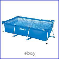 Intex Swimming Pool Rectangular Frame 260x160x65cm Above Ground Water Centre