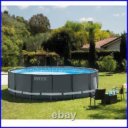 Intex Ultra XTR 18ft Dia. Round 52 Deep Frame Above Ground Swimming Pool #26330