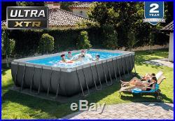 Intex Ultra XTR 24ft X 12ft X 52 Above Ground Swimming Pool (7.3m X 3.6)