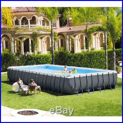 Intex above Ground Swimming Pool 975x488xh132cm + Pump to Sand Ladder & Sheeting