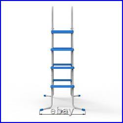 JLeisure 29R146 48 3 Step Platform Outdoor Above Ground Swimming Pool Ladder
