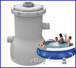 Jilong 530gal Pool Filter Pump Cartridge Filter System 2006l Volume 8/10/12ft