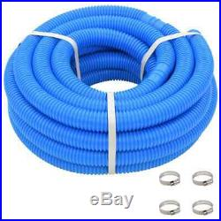 KWAD Swimming Pool Set Steely Deluxe Oval 7.3x3.6x1.2m Above Ground Centre