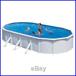 KWAD Swimming Pool Steely Deluxe Oval 6.1x3.6x1.2m Above Ground Water Centre