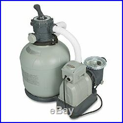Krystal Clear Sand Filter Pump For Pools Provides Excellent Water Filtration