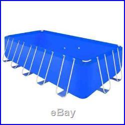 Large Above Ground Swimming Pool Garden Patio Backyard Steel Frame for Summer UK