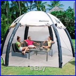 Lay-Z Spa Beige Plastic Dome Bestway Garden Hot Tub Tent Brand New Gazebo Dry