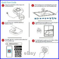 Lifebuoy Pool Alarm Smart Swimming Pool Alarm that is Application Controlled