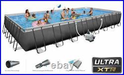 MASSIVE Intex 26378 Ultra XTR Frame Above Ground Pool Rectangular 975x488x132cm