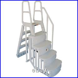 Main Access 200100T Above Ground Swimming Pool Step Ladder System with LED Light