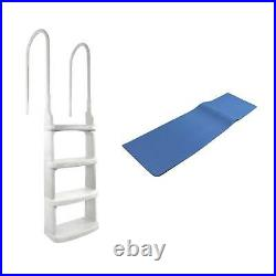 Main Access 200200 Easy Incline Above Ground In-Pool Pool 24 Ladder with Mat