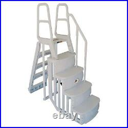 Main Access 48-54 Inch Above Ground Swimming Pool Smart Step and Ladder System