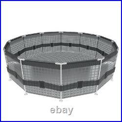 Metal frame above ground pool Steel Pro 305 x 76 cm 4678 l BESTWAY