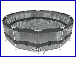 Metal frame above ground pool Steel Pro 366 x 76 cm 6473 l BESTWAY
