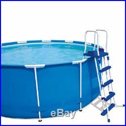 Metal frame above ground pool Steel Pro 457x122 cm BESTWAY