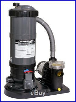 New Above Ground Swimming Pool Cartridge Filter 90 Sq Ft Pump Cleaner System