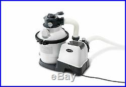 New Intex Sand Filter Pump 26644 Above Ground Swimming Pool 4500l/h 1200 Gal/h