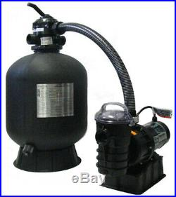 New Sta-rite Premium 19 Above Ground Swimming Pool Sand Filter & Pump System