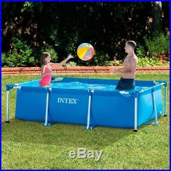 Outdoor Large Family Pool With Frame Kids Inflatable Paddling Pool Above Ground