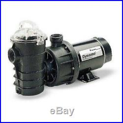 Pentair 340210 Dynamo Single Speed Aboveground 115V 1.5HP Pool Pump